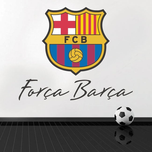 Vinyl and stickers football club barcelona