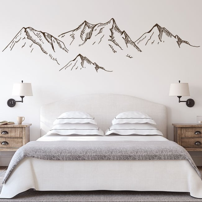 Wall decals wild mountains