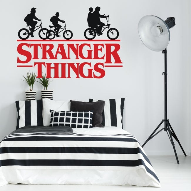 Vinyl and stickers tv series stranger things
