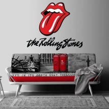 Stickers and decorative vinyl the rolling stones