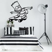 Children and youth vinyl and stickers bart simpson