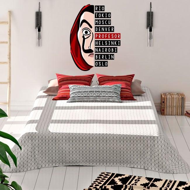 Decorative vinyl the paper house