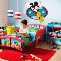 Decorative vinyl and stickers mickey mouse