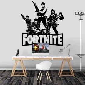 Adhesive vinyl and stickers fortnite