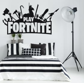 Vinyl video game fortnite