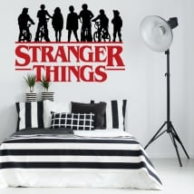 Vinyl and stickers stranger things