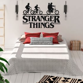 Decorative vinyl stranger things