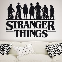 Vinyl stickers stranger things
