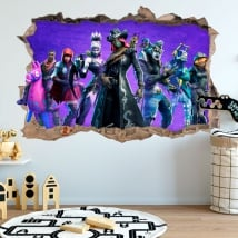 Vinyl stickers fortnite 3d