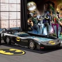 Vinyl murals batman gotham city impostors