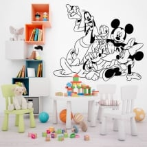 Vinyls disney mickey mouse and his friends
