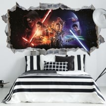 3d wall stickers star wars