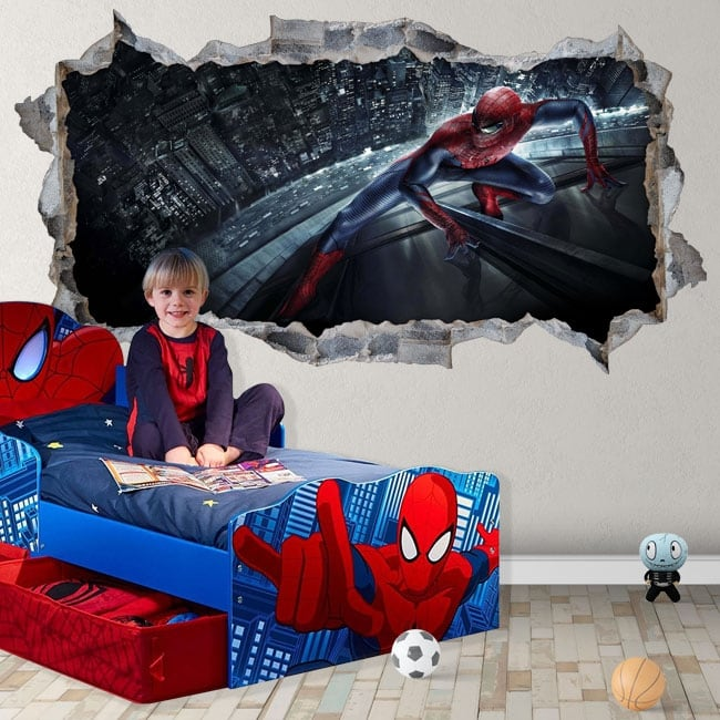 Vinyl and stickers 3d spiderman