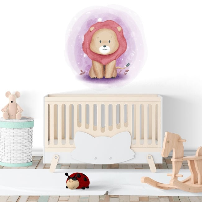 Children's or baby vinyl lion