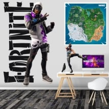 Vinyl and stickers stratus fortnite video game
