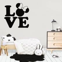 Decorative vinyl and stickers disney love