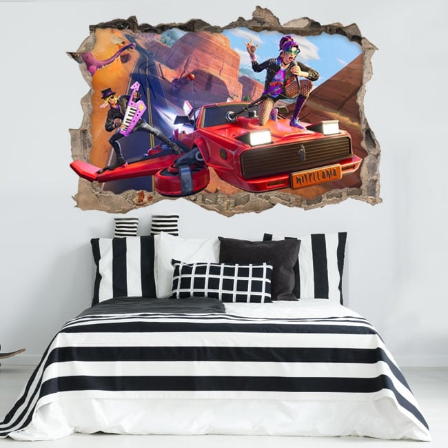 Vinyl and stickers 3d fortnite