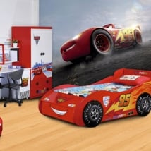 Wall murals disney cars