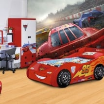 Wall murals children's vinyl disney cars 3