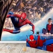 Vinyl murals spiderman marvel