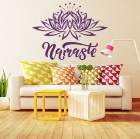 Decorative vinyl phrase it all starts with a dream