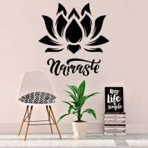 Decorative vinyl namaste