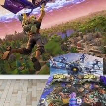 Vinyl photo murals fortnite video game