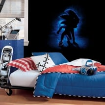 Wall murals video game sonic the hedgehog