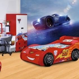 Wall murals disney cars