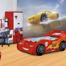 Wall murals disney cars cruz ramírez