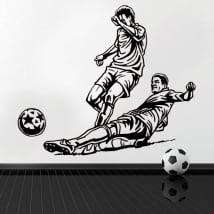 Decorative vinyl and stickers football
