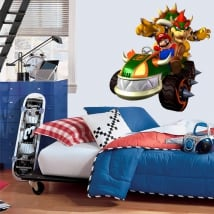 Decorative vinyl video game mario bros