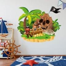 Children's vinyl the pirate's treasure