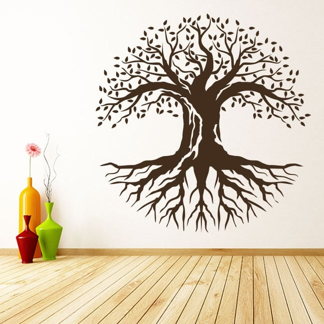 Decorative vinyl and stickers the tree of life