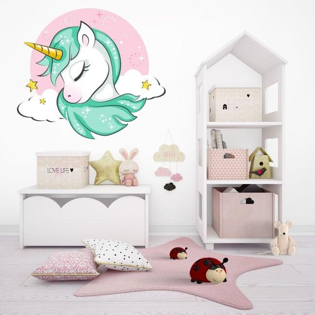 Children or youth vinyl unicorn