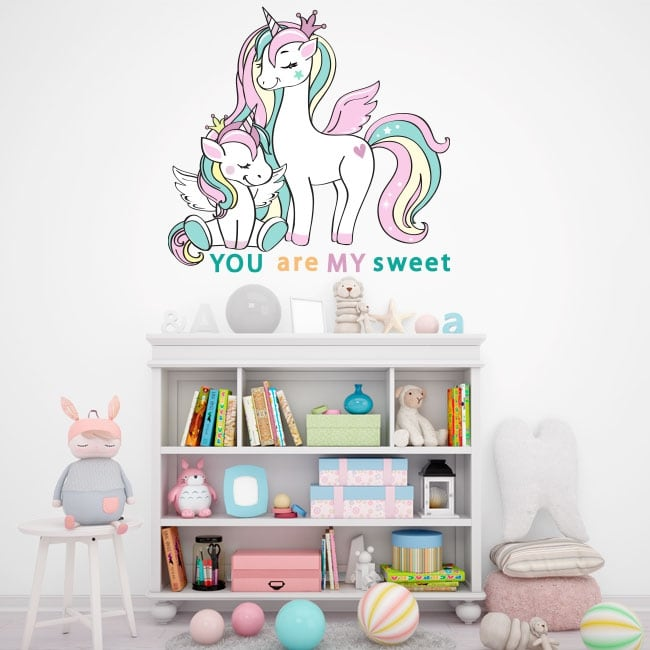 Children and youth vinyl and stickers unicorns