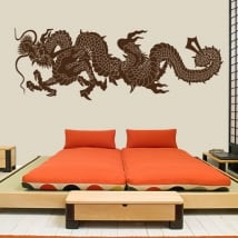 Decorative vinyl and stickers dragon japan