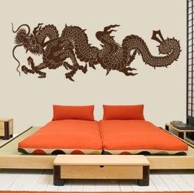 Vinyl Oriental Dragon
