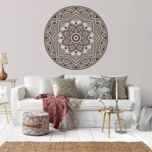 Decorative vinyl and stickers with mandalas