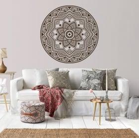 Decorative vinyl of mandalas