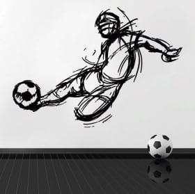Vinyl and stickers football
