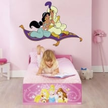 Decorative vinyl and stickers of disney aladdin
