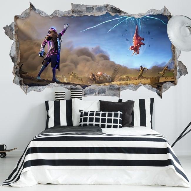 Vinyl walls star walker fortnite 3d