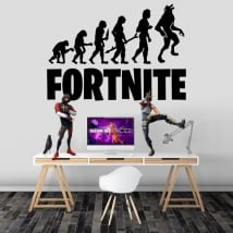 Vinyl and stickers fortnite evolution