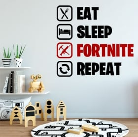 Vinyl stickers fortnite routine in english