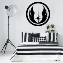 Vinyl and stickers star wars jedi order symbol