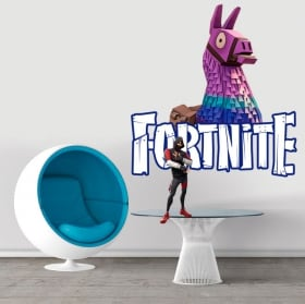 Vinyl and stickers fortnite life