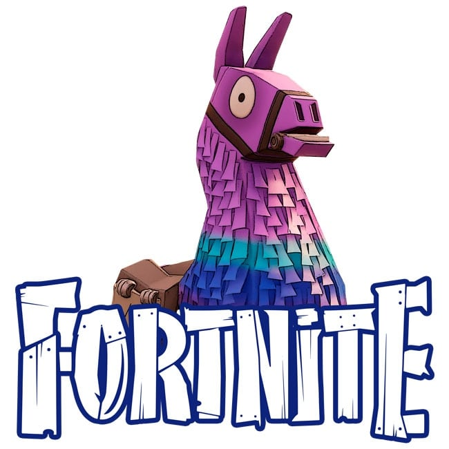 Vinyl Stickers Llama Of Fortnite