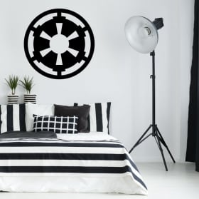 Vinyl and stickers star wars galactic empire symbol