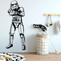 Vinyl and stickers star wars stormtrooper